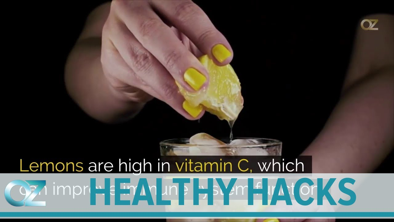 Tips to Build a Strong Immune System Dr Oz's Healthy Hacks