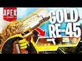 I Found a LEGENDARY RE-45 in Solos! - PS4 Apex Legends Solos!