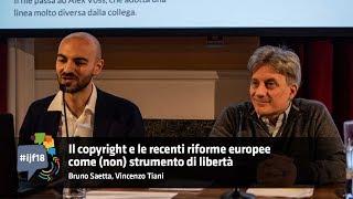 Il copyright e le recenti riforme europee come (non) strumento di libertà