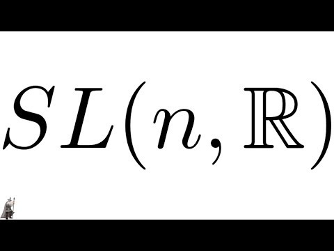 The Special Linear Group Is A Subgroup Of The General Linear Group Proof