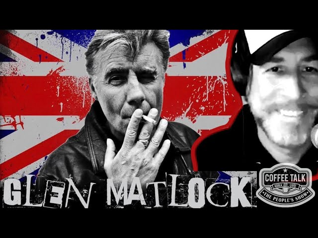 #1285 Sex Pistol Glen Matlock Live from London, Up Close and Personal