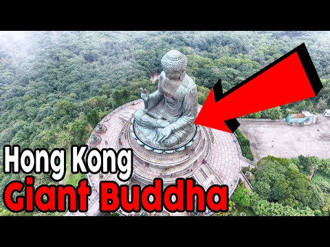 85: Breathtaking Views At The Big Buddha in Hong Kong! | Aerial Drone Footage