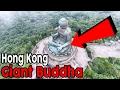 85: Breathtaking Views At The Big Buddha in Hong Kong! | Aerial Drone Footage