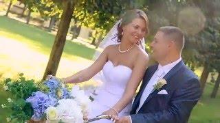 Красивая свадьба в усадьбе Архангельское  Выездная регистрация брака Андрея и Маши