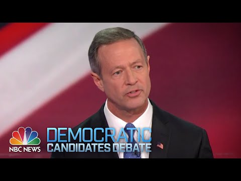 Martin O'Malley's Opening Statement | Democratic Debate | NBC News-YouTube