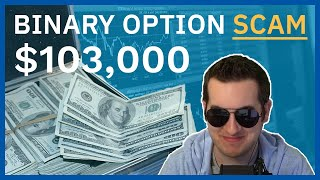 Binary Option Scammers Owe Me $103,000