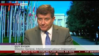 WESO Trends 2017: ILO Director-General Guy Ryder on BBC World News