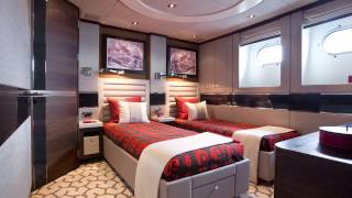 Bannenberg & Rowell Design, Interior Design Film of Aurelia Superyacht