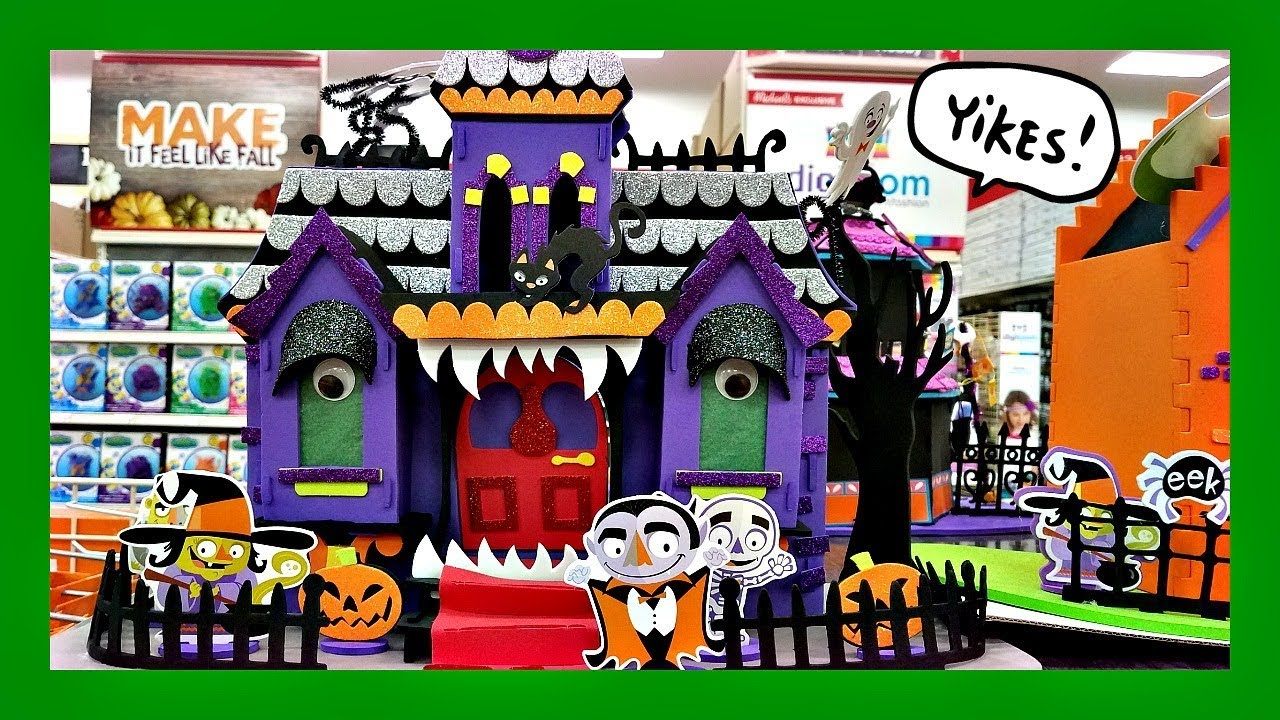 shop with us halloween kids crafts at michaels 2017 - Halloween Michaels