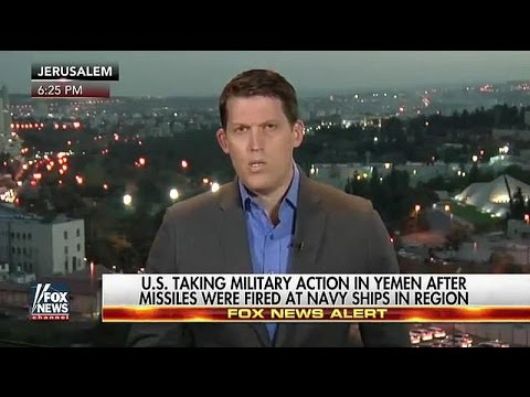 US Navy retaliates targeting Houthi rebels in Yemen with Tomahawk Missiles from USS Nitze