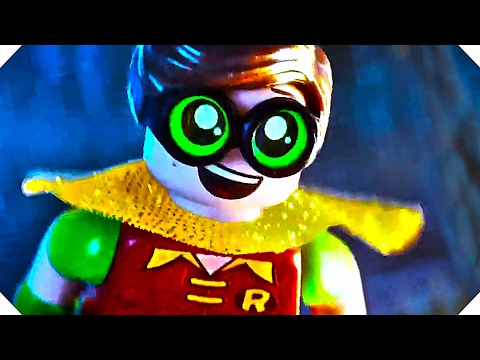THE LЕGΟ BАTMАN MΟVIЕ  Fly Robin Fly  Movie CLIP Animation, 2017