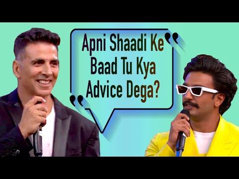 Akshay Kumar Grills Ranveer Singh On Marriage Mp3