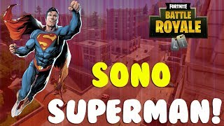 SONO SUPERMAN! - PROVIAMO LA NUOVA MODALITA' - FORTNITE ITA