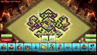#294 Clash of Clans: Town Hall 8 War Base Speed Build