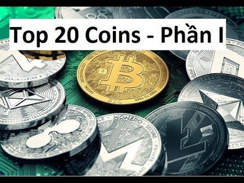 Top 20 coins - Phần 1 - BTC, ETH, BCH, XRP, LTC, ADA, IOTA, XEM, DASH, XMR