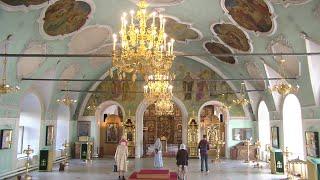 Всенощное бдение 5 сентября 2020, Высоко-Петровский монастырь, г. Москва