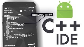 Turn Any Android Smartphone into Programming Machine