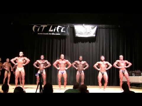 2013 NPC All South Bodybuilding Championship. Men's Bodybuilding Light Heavyweight Class Prejudging