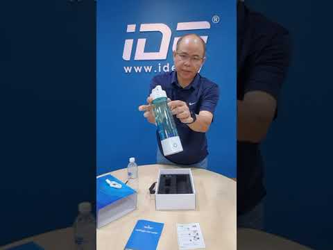 IONCARES Portable Hydrogen Water