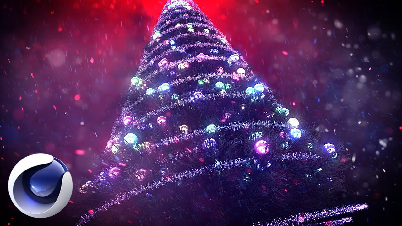Новогодняя композиция 2016 в Cinema 4D
