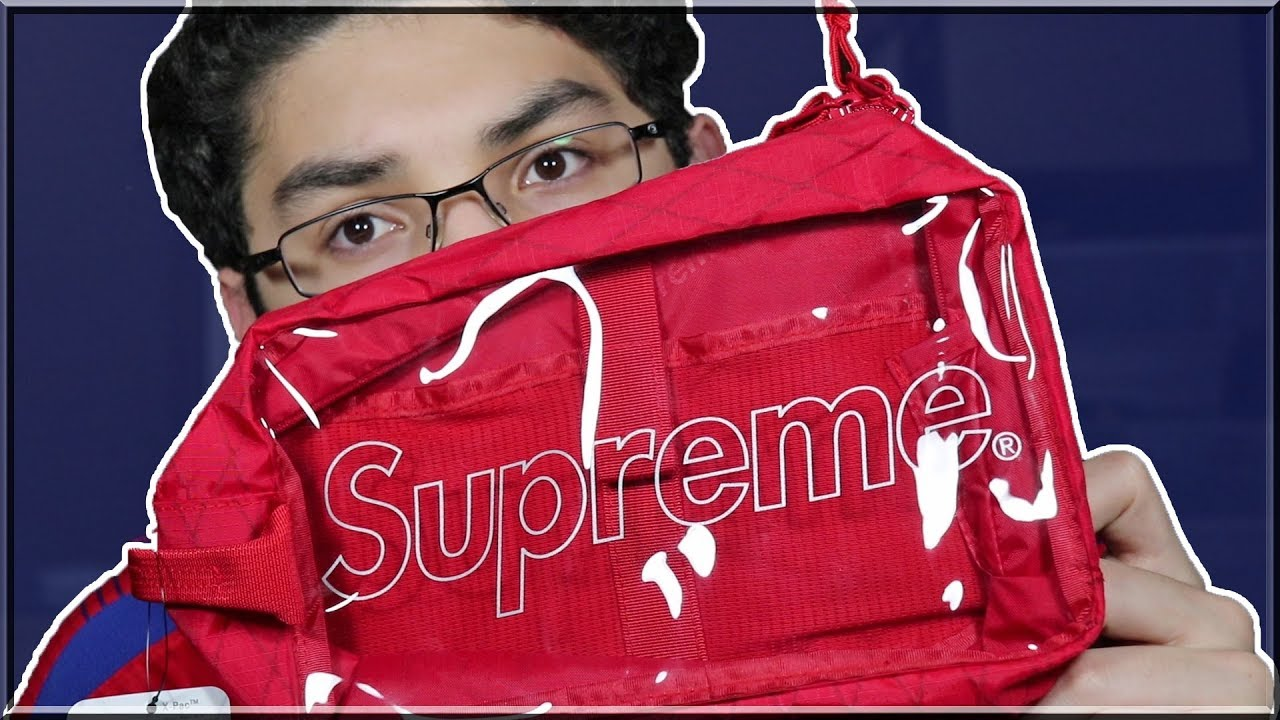 6a7f1976 Supreme Utility Bag FW18 Review (Red) - YouTube