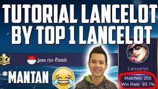 tutorial lancelot by top 1 lancelot ex pasti epic jess no limit mobile legends indonesia