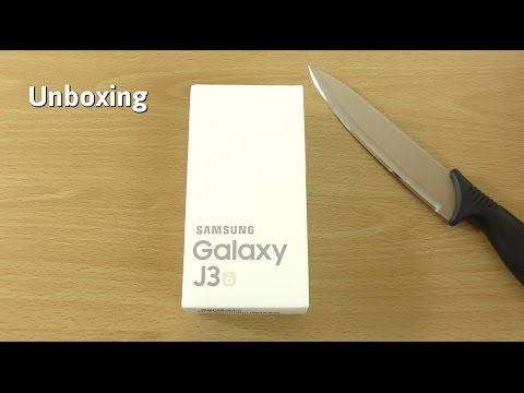 Samsung Galaxy J3 2016 - Unboxing & First Look!