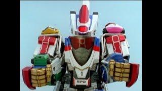 Power Rangers S.P.D. - DeltaMax Megazord