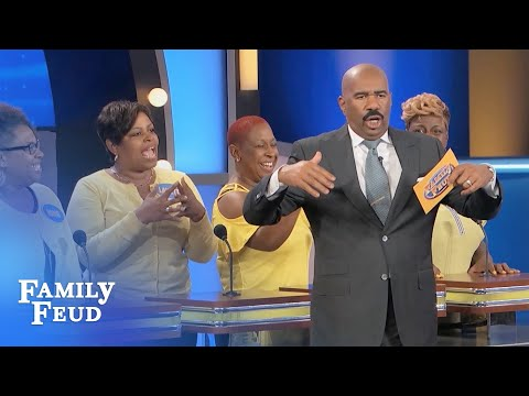 almost christmas cast family feud episode