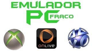 Como Baixar E Instalar Emulador De Xbox E Ps3 Para PC Fraquíssimo HD ( Não Precisa Baixar O Jogo! )