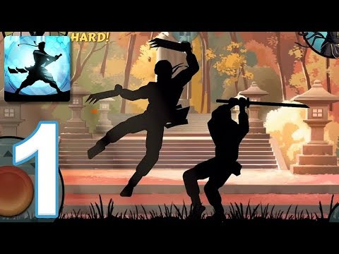 Shadow Fight 2 Special Edition - Gameplay Walkthrough Part 1 - Sensei's Story (iOS, Android)