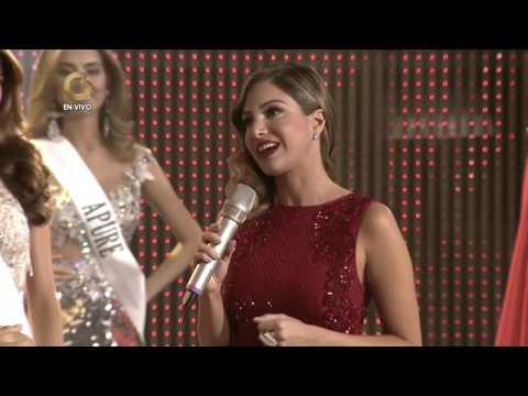 Ninoska Vásquez fue coronada Miss Earth Venezuela 2017