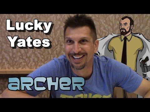 Archer Season 6  Lucky Yates   ComicCon 2014