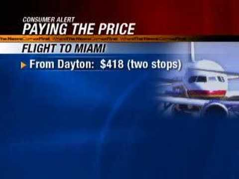 Dayton, Ohio Airport Campaigns for Passengers