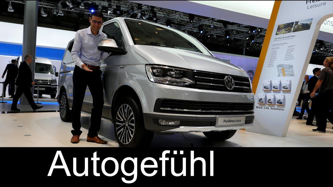 VW Volkswagen T6 PanAmericana & Rockton & Money Transporter Review ...