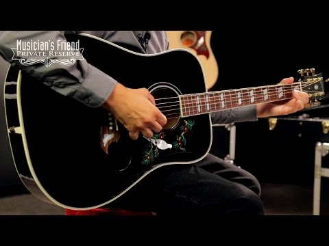 Gibson Dove Ebony Special Acoustic-Electric Guitar