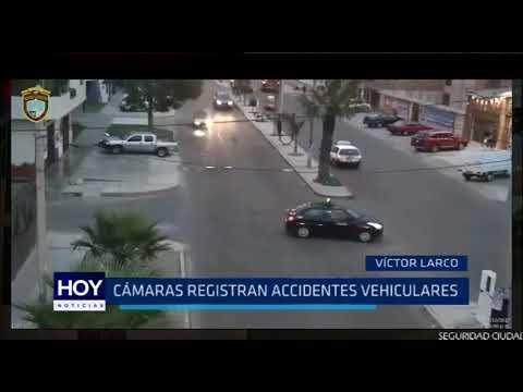 Víctor Larco: Cámaras registran accidente vesiculares