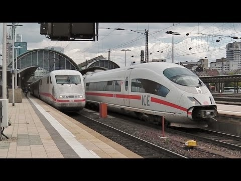Frankfurt am Main Hbf - viele ICEs - IC (+Cewe-Lok) - BR 420, 423, 442, 111, 146