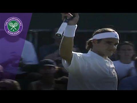 Roger Federer's first Wimbledon win