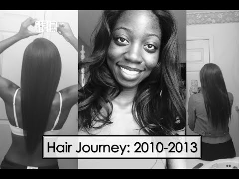 Hair Journey | Relaxed to Texlaxed 2010-2013 (Part 1)