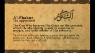 Names of Allah - Al Shakur