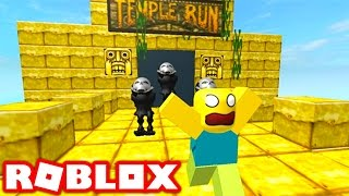 TEMPLE RUN IN ROBLOX! (Roblox Temple Run 2)