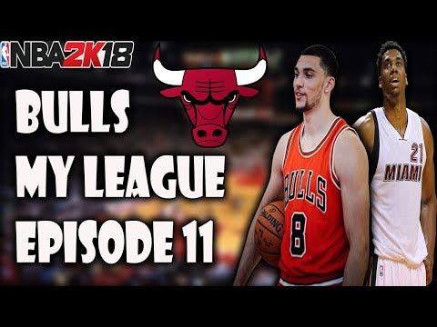 SUCCESSFUL OFFSEASON? - Bulls My League Episode 11 - NBA 2K18