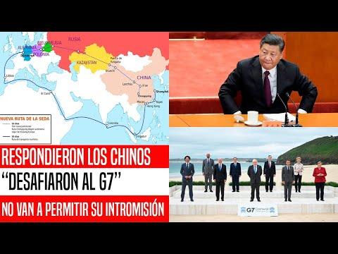 SE ACABÓ! CHINA ENFURECE CON EL G7. RESPONDIERON FUERTE. EUA Y EUROPA EN PROBLEMAS. NOTICIAS