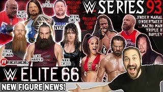 NEW WWE Mattel Action Figure News!!! Elite 66 & Basic 93