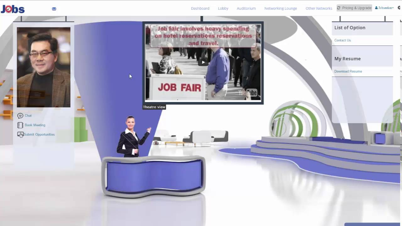 How To Set Up A Virtual Resume Booth For Virtual Job Fair  Virtual Resume