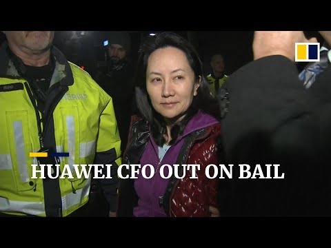 Huawei CFO Meng Wanzhou Released On US$7.5m Bail