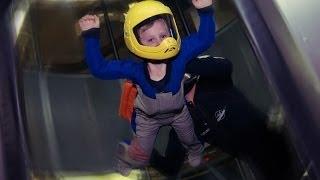 Полеты в аэротрубе для детей
