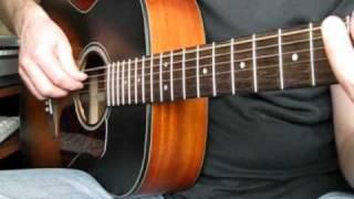 Осколок льда на гитаре