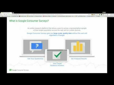 Google News Lab Office Hour: Google Consumer Surveys